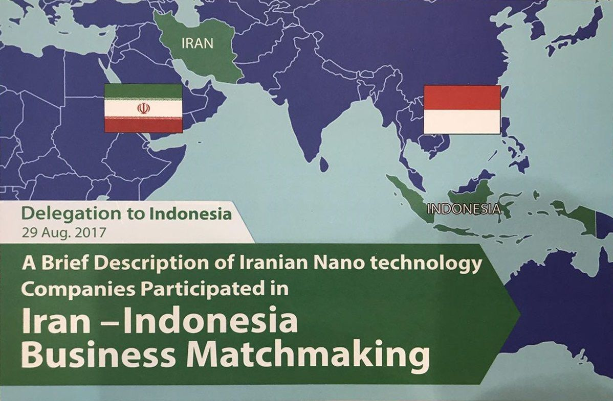 """Aria Polymer in """"Iran-Indonesia Nanotechnology Business Matchmaking"""" Event"""